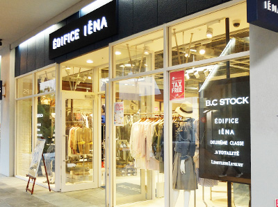 EDIFICE IENA OUTLET STORE