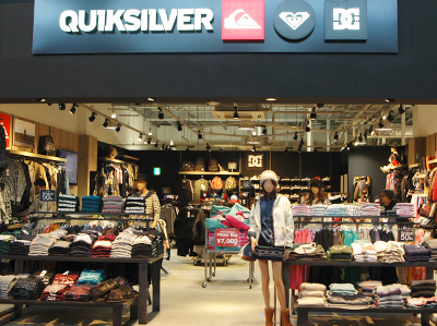 QUIKSILVER FACTORY OUTLETSTORE